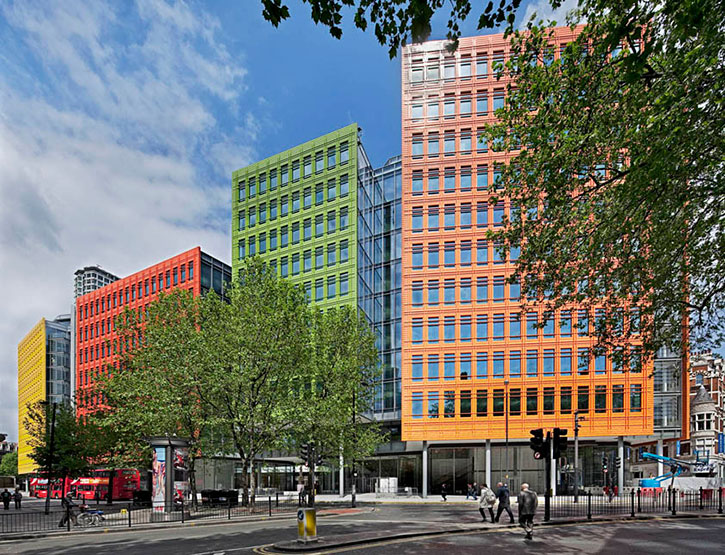 Central St. Giles Court by Renzo Piano